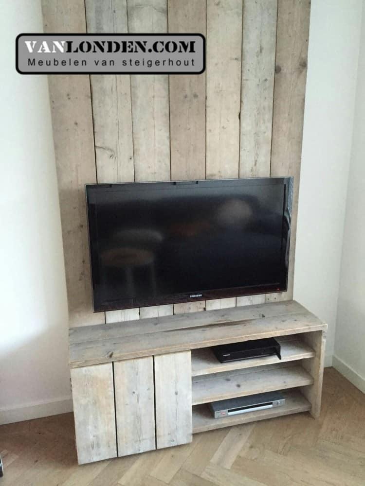 Steigerhouten tv meubel mathijs vanlonden steigerhout for Steigerhout tv meubel