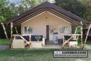 Inrichting glamping tenten (Richt jouw huis in met onze steigerhouten meubelen)
