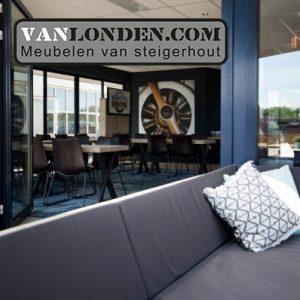 Boarding Inrichting VanlondenCom Rooom Breda International Airport terras