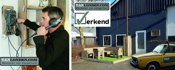 Contact bedankpagina Vanlonden.com