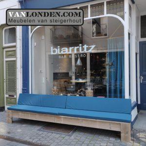 Gevelbank Bar Bistro Biarritz Breda