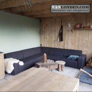 Outdoor Loungebank VanLonden.com - Luna (Actieve steigerhouten zitbanken bestellen)