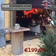 Steigerhouten statafel Arno (Steigerhouten eettafels online bestellen)