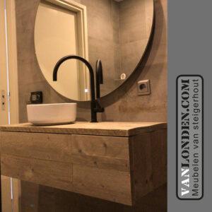 Steigerhouten badkamermeubel Odi (Steigerhouten kasten bestel je online)