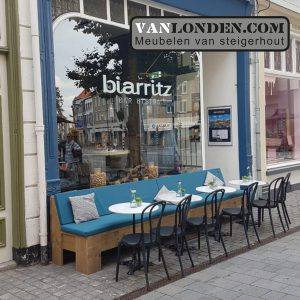 Steigerhouten bank Biarritz Breda 2