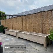 Steigerhouten bloembak / plantenbak Faas (Steigerhouten accessoires online bestellen)