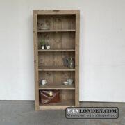Steigerhouten boekenkast Manon (Bestel steigerhouten archiefkasten)