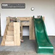 Steigerhouten hoogslaper Jelle (Steigerhouten kinderbedden online bestellen)