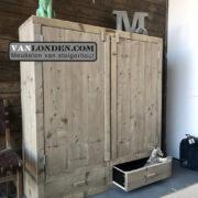 Steigerhouten kast met lades Lex (Diverse steigerhouten kasten bestellen)