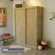 Steigerhouten kledingkast Allard (Steigerhouten kledingkasten online bestellen)