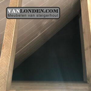 Steigerhouten slaap vide Carlijn detail