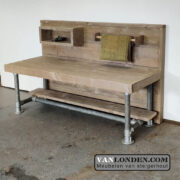 Steigerhouten speeltafel/commode Pip (Steigerhouten tafels online bestellen)