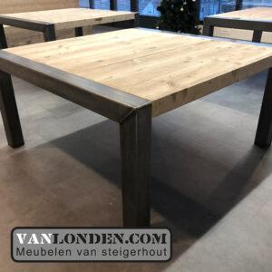 Steigerhouten tafels Yonego