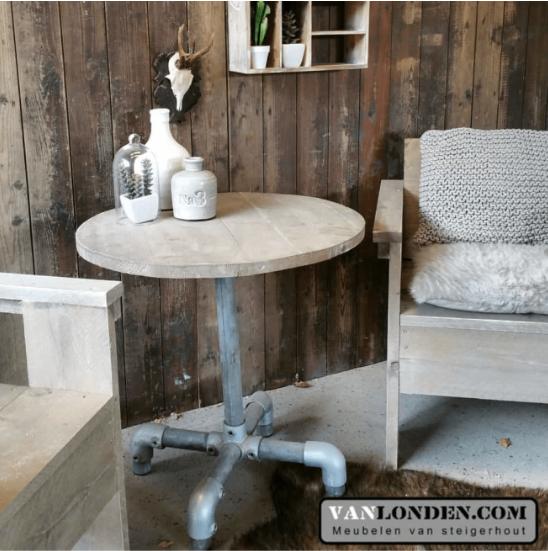 Steigerhouten tafeltje Michel (Steigerhouten salontafels online bestellen)