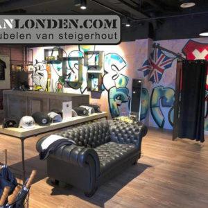 Vanlondencom interieur sidetable fanshop NAC