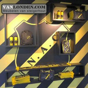 Vanlondencom interieur wand fanshop NAC