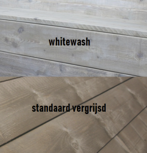 Dennis Whitewash-standaard vergrijsd