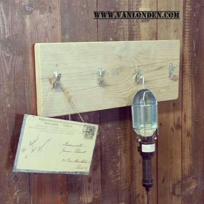 Steigerhouten kapstok Bart (Steigerhouten accessoires online bestellen)