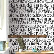 Behang letters (Behang en posters bestel je online)