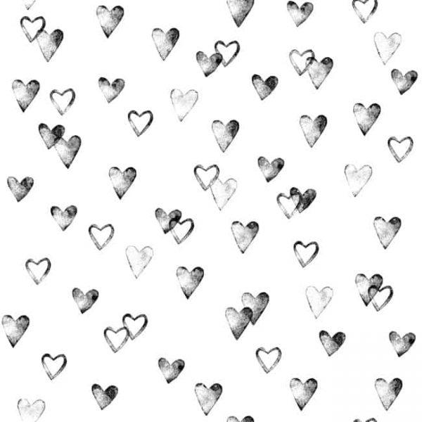 Behang hartjes (Behang en posters bestel je online)