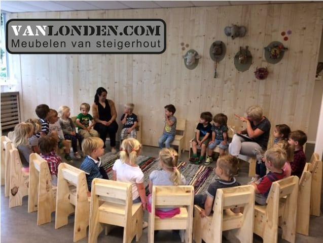Inrichting kinderdagverblijf (Richt jouw huis in met onze steigerhouten meubelen)