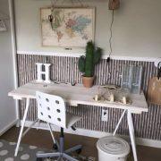 Steigerhouten bureau Jason (Steigerhouten bureaus op maat gemaakt)