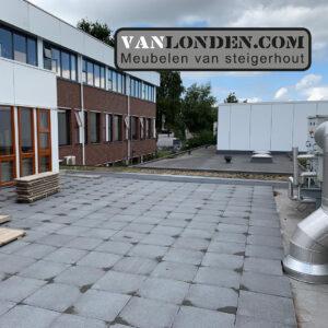 dakterras lerarenkamer school Markenhage Breda 1