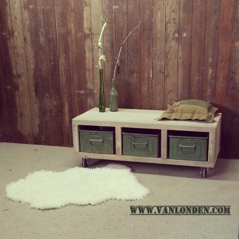 Steigerhouten tv-meubel Ivy (Steigerhouten TV-meubels op maat)
