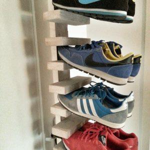 Steigerhouten sneaker rek Lennart (Steigerhouten accessoires online bestellen)