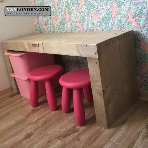 Steigerhouten speeltafel Sofie (Steigerhouten tafels online bestellen)