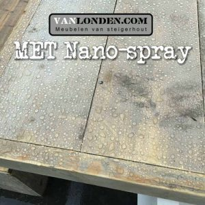 Steigerhout met nano coating