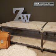 Steigerhouten tv-meubel Merel (Steigerhouten TV-meubels op maat)