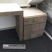 Steigerhouten badkamerkastje Esmee (Steigerhouten kasten bestel je online)