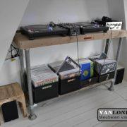 Steigerhouten DJ meubel Orlando (Steigerhouten DJ-meubel online bestellen)