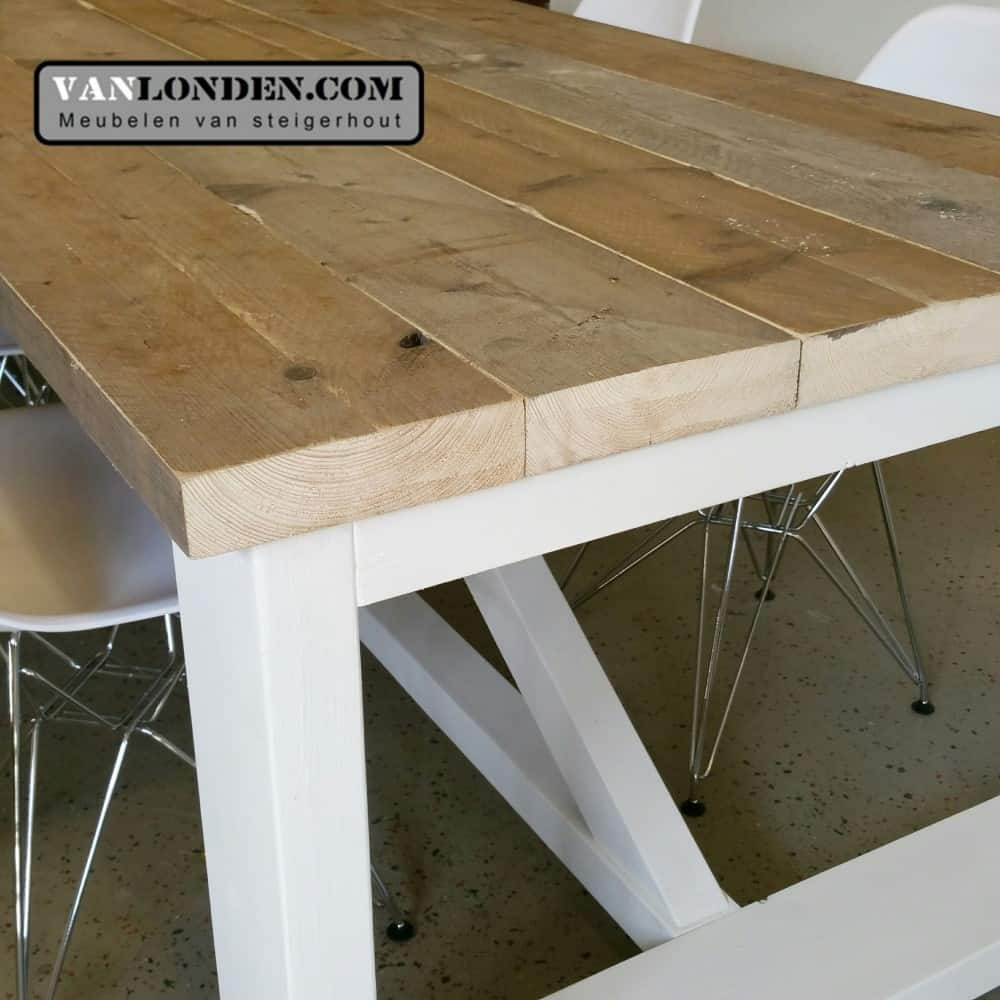 Eethoek steigerhout awesome eettafel steigerhout with for Steigerhout eethoek