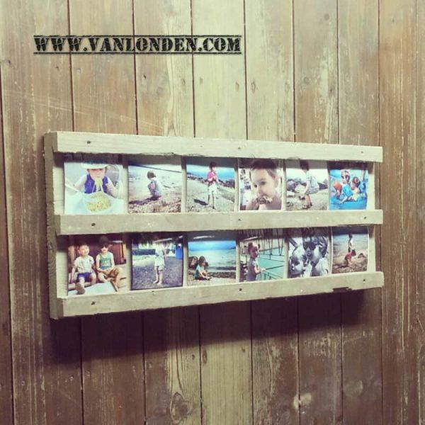 Steigerhouten fotobord Floor (Steigerhouten accessoires online bestellen)