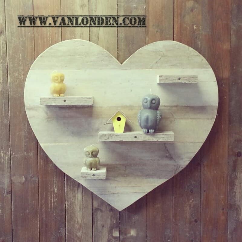 Steigerhouten hart Hannah (Steigerhouten accessoires online bestellen)