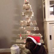 Kerstboom van steigerhout Claus (Steigerhouten accessoires online bestellen)