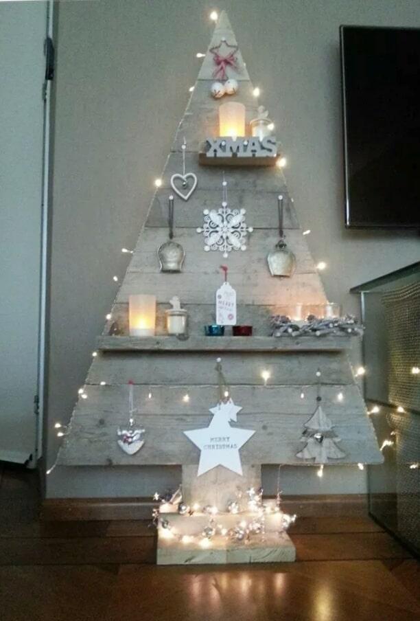 Kerstboom van steigerhout Noël (Steigerhouten accessoires online bestellen)