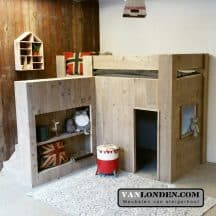 Steigerhouten kinderbed Jelte (trap links) (3)
