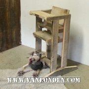 Steigerhouten kinderstoel Yfke (Steigerhouten stoelen online bestellen)