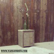 Steigerhouten nachtkastje Nadine (Steigerhouten nachtkastjes online bestellen)