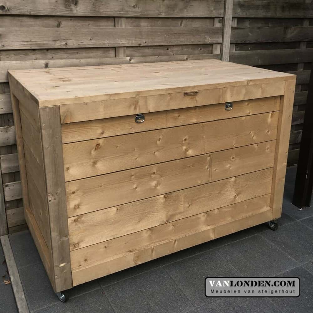 Steigerhouten Kliko ombouw Marga (Opbergmeubels online bestellen)