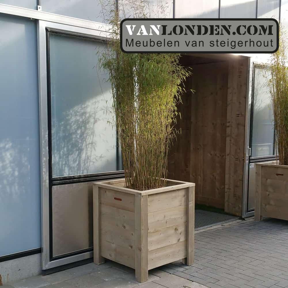 Steigerhouten bloembak / plantenbak Onno (Steigerhouten accessoires online bestellen)