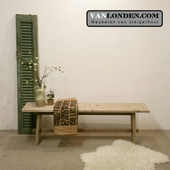 Steigerhouten side table Siga