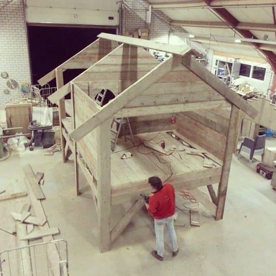 Maatwerk steigerhouten meubelen - VanLonden Steigerhout