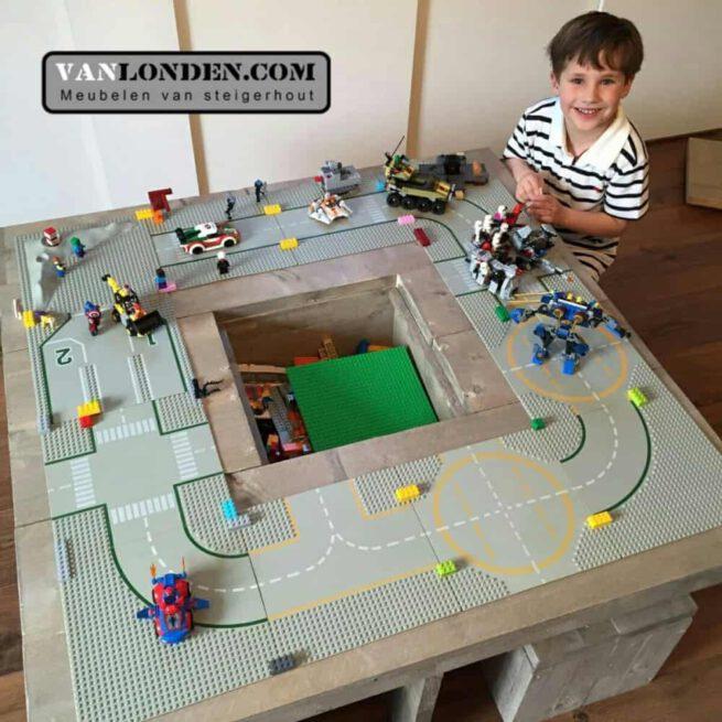 Steigerhouten speeltafel Laurens (Steigerhouten tafels online bestellen)
