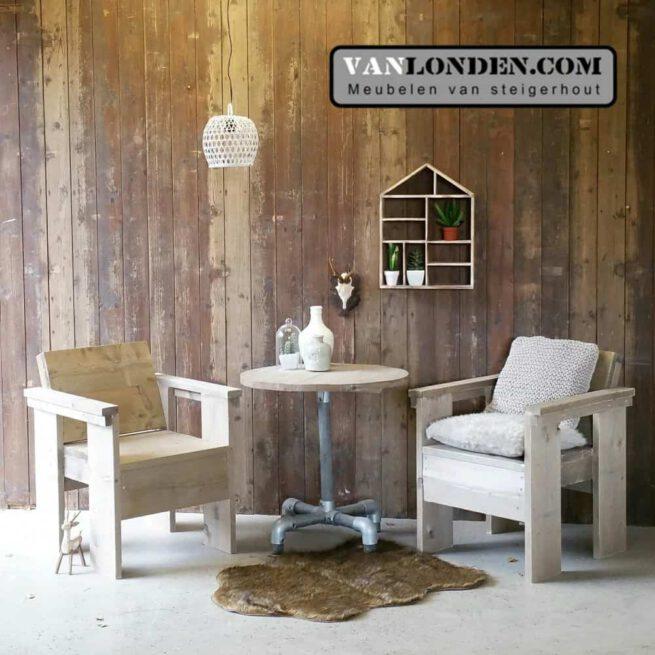 Steigerhouten stoel Stijn (Steigerhouten stoelen online bestellen)