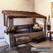 Steigerhouten survival bed Mason (Aanbiedingen kinderbedden)