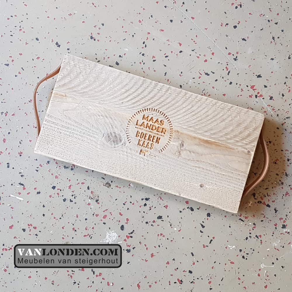 Steigerhouten Tapas-kaas plank Joas (Onze splinternieuwe meubelen op een rij)